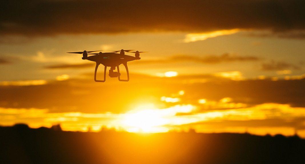 drone komatsu construction