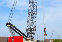 link-belt crane
