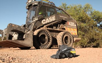 team rubicon case skid steer loader