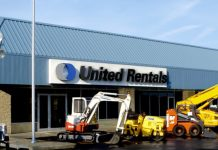 united rentals blueline rental