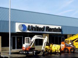 united rentals blueline rental