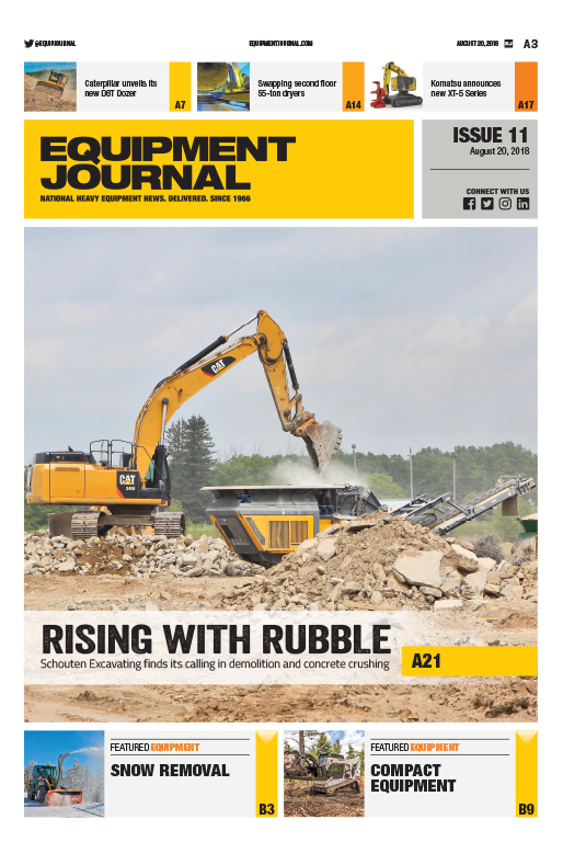 Equipment Journal - Issue 11, 2018