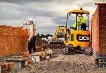 JCB compact excavators
