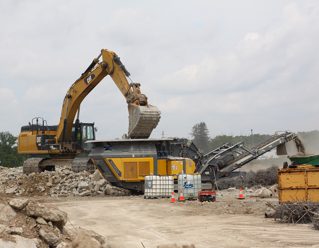 Schouten Excavating finds its calling in demolition and