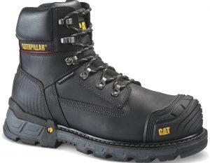 Cat excavator boots