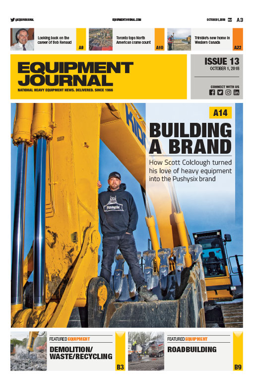 Equipment Journal - Issue 13, 2018