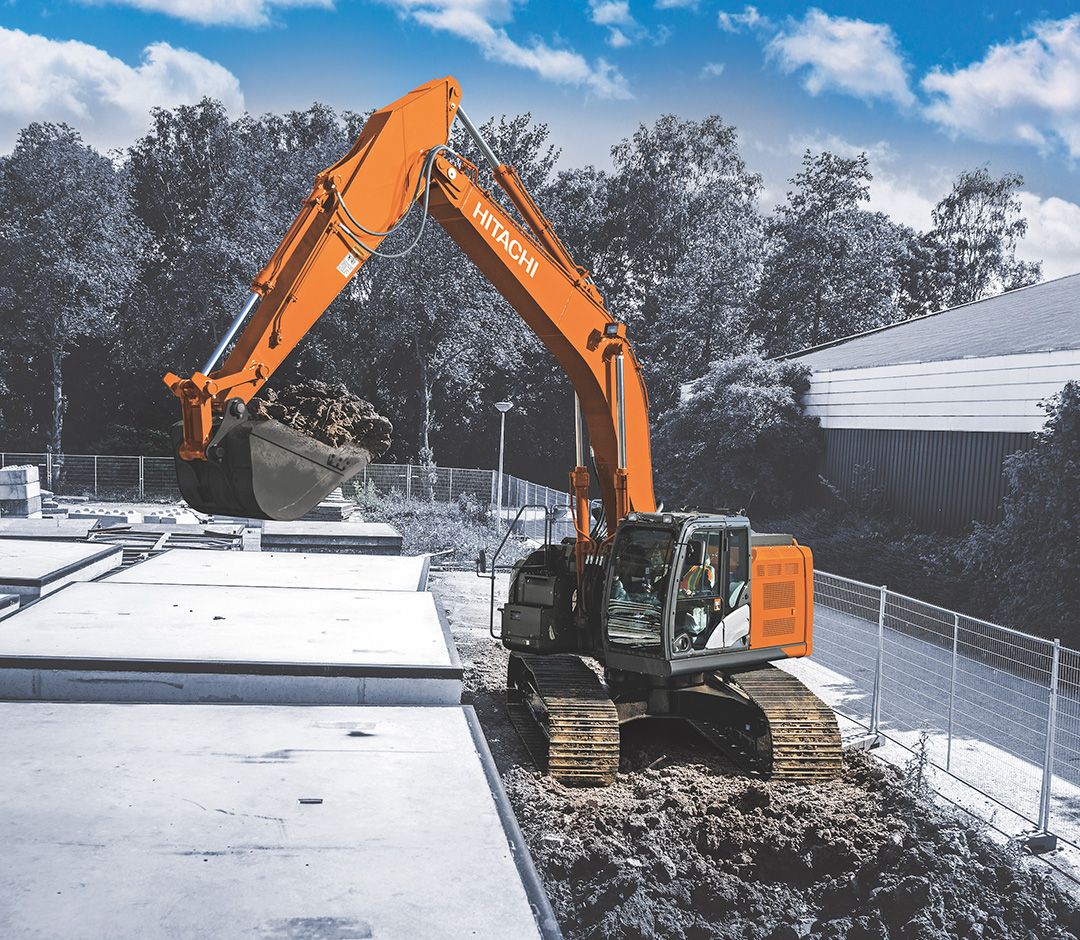 Hitachi's most powerful reduced tail swing excavator yet