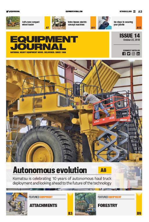 Equipment Journal - Issue 14, 2018