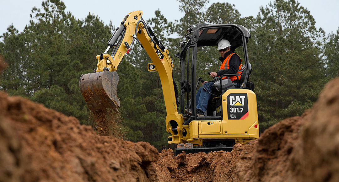 Caterpillar Rolls Out Next Generation Mini Excavators Equipment
