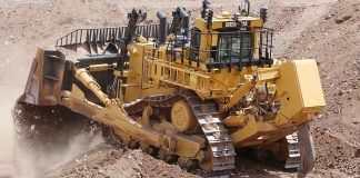 teck resources caterpillar 40,000 large dozer