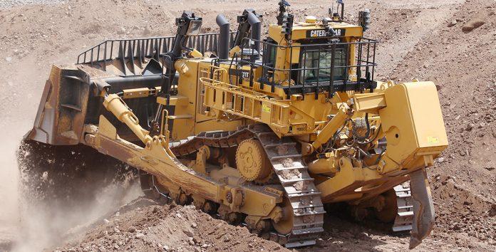 teck resources caterpillar 40,000 large dozer