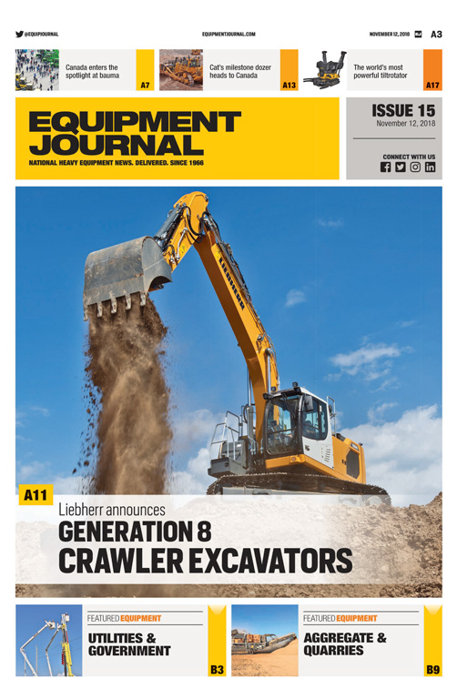 Equipment Journal – Issue 15, 2018