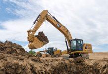 Cat 30-ton excavator