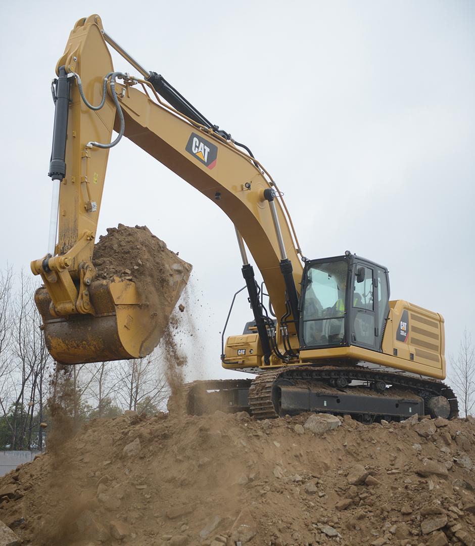 Cat's 36-ton next generation excavators match machine to task