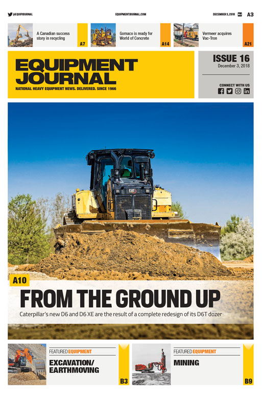 Equipment Journal - Issue 16, 2018