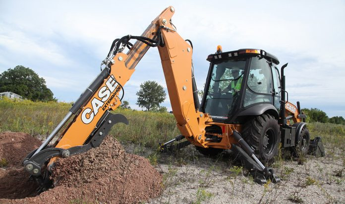 case N-series backhoe