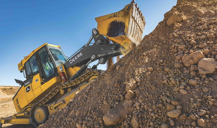 Deere crawler loaders