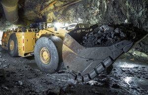 underground mining loader