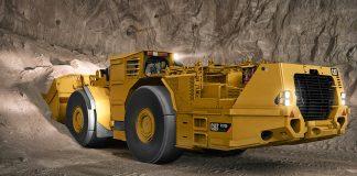 caterpillar mining loader