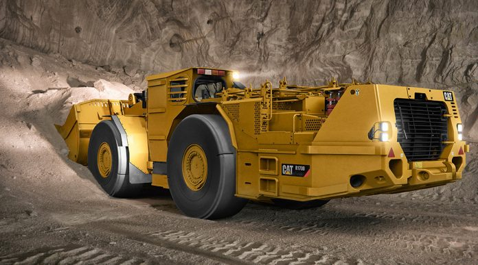 caterpillar mining loader