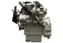 Perkins turbo engine