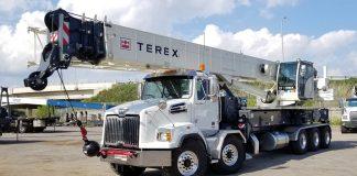Terex boom trucks