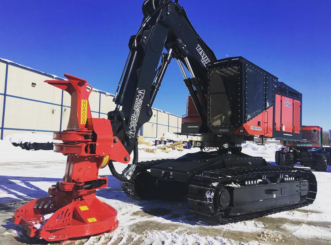 TimberPro acquired by Komatsu America Corp - Equipment Journal