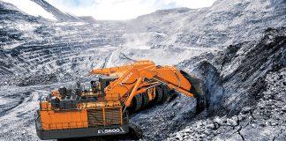 hitachi ex-7 mining excavator