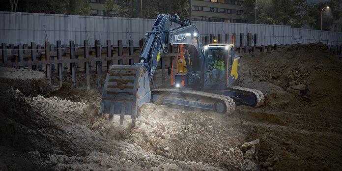 Volvo CE 20 ton excavator