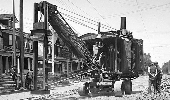toronto steam shovel