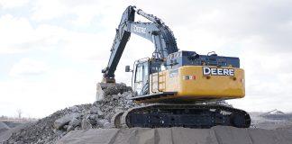 Nortrax john Deere excavator