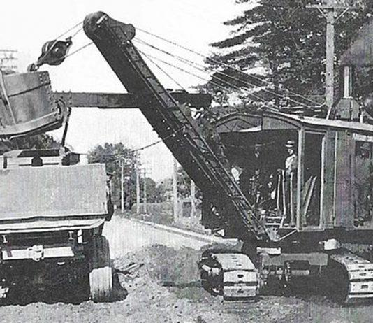 Marion steam shovel