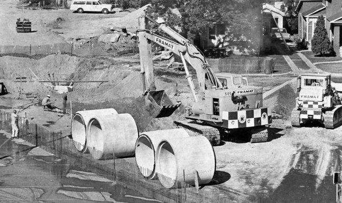 Koehring 505 hydraulic excavator