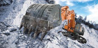 Hitachi mining excavator