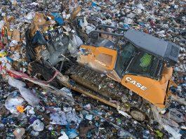 Case landfill dozer