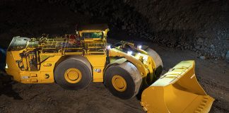 Caterpillar underground loader