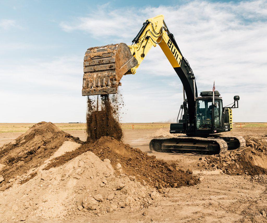 autonomous excavator