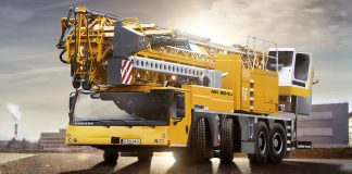 liebherr mobile construction cranes mk88