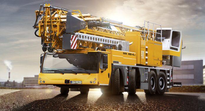 liebherr mobile construction cranes mk88