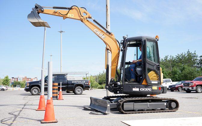 ORCGA excavator challenge