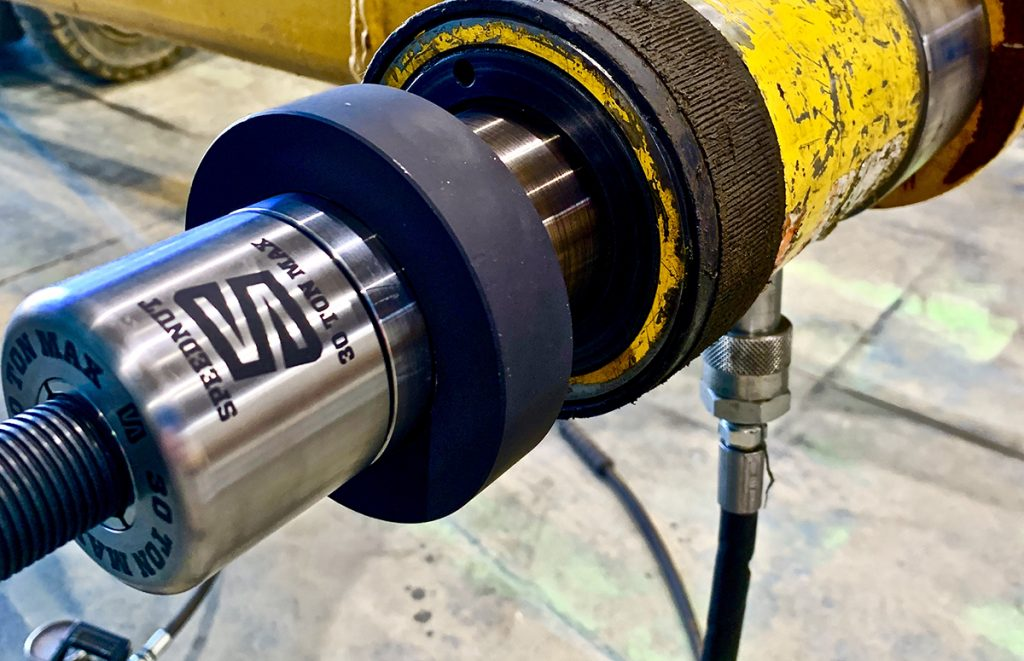 Speednut helps fast track bushing replacement - Equipment