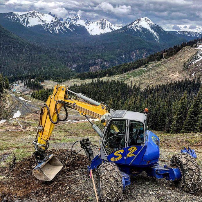 spider excavator