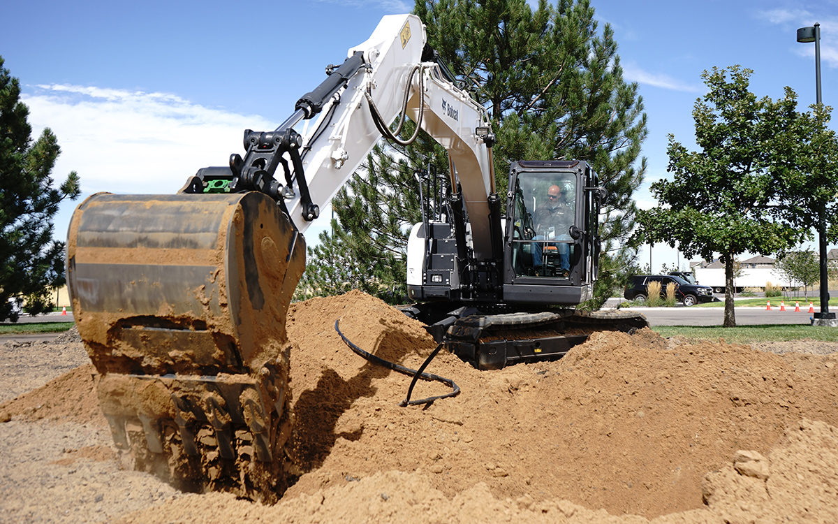 The E145 Bobcat S Biggest Excavator To Date Equipment Journal