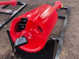 spin bottom drill bucket