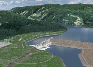 Site C hydro dam
