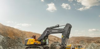 Volvo largest excavator