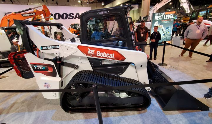 electric compact track loader