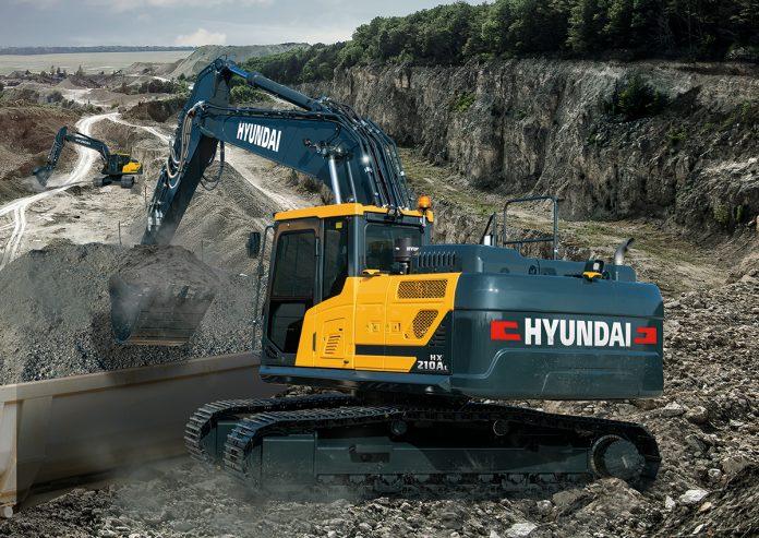 hyundai 20 ton excavator