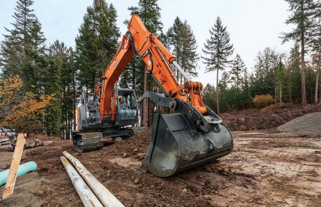 Stalker excavating