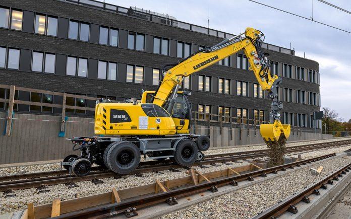 Liebherr A 922 rail